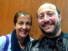 Selfie con Mari Mar, Profesora de la Escuela de Hostelería de Castellón y Gran Amiga