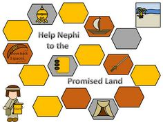 Games and other activities for Family Night: Nephi Game...Book of Mormon 1 Nephi