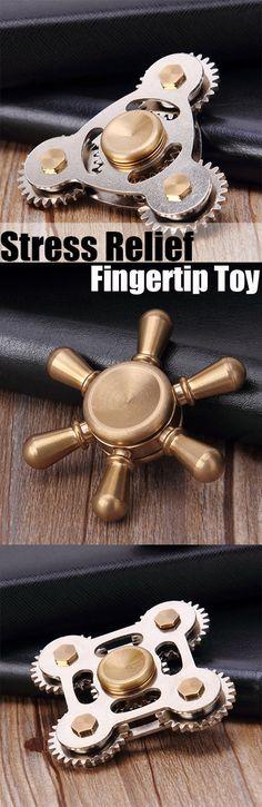Stress Relief Fingertip Toy Rudder Finger Gyro
