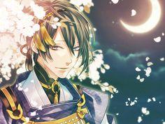 Touken Ranbu Mikazuki | Tags: Anime, Komashiro, Touken Ranbu, Mikazuki Munechika, Crescent ...