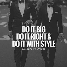 How it's done! Do it big, do it right and do it with style! Tag a friend ✌️