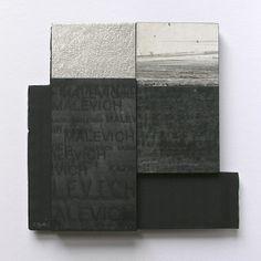 """RAMÓN URBÁN, """"UA02-A MALEVICH"""" Collage técnica mixta 15x15 cm. (Colección privada).  + info.: https://www.facebook.com/ramon.urban?ref=hl"""