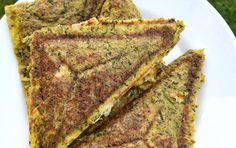 CUKETOVÉ TOASTY - Jídelní plán Lchf, Lasagna, Banana Bread, Zucchini, Paleo, Toast, Food And Drink, Low Carb, Vegan