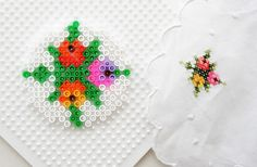 Pixel Coasters | 23 DIY Holiday Gifts Kids Can Give To Their Parents