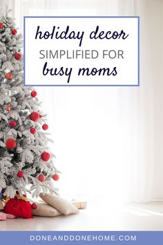 Don't miss these tips for easy holiday decor for busy moms who want to get organized for the holidays.  Whether you're celebrating Christmas or Hanukkah, these simple holiday decorating tips will make holiday decorating as easy as 1, 2, 3.  #christmasdecor #holidaydecor #hanukkahdecor #holidaydecorations Christmas Table Settings, Christmas Decorations, Holiday Decorating, Decorating Tips, Last Minute Christmas Gifts, Celebrating Christmas, Christmas Aesthetic, Home Organization Hacks, Declutter Your Home