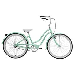 Nirve Beach Blossom Cruiser Bike (Sea Foam Green)  Style # 9612