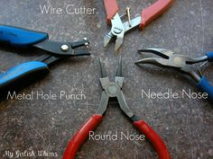 Jewelry Making Tools and Supplies