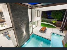 void over pool Street, Outdoor Decor, Homes, Home Decor, Houses, Decoration Home, Room Decor, Home, Home Interior Design
