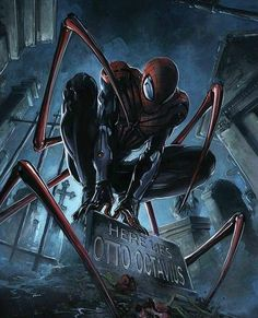Marvel Comics. Comic Book Artwork • Spider-Man by Clayton Crain. Follow us for more awesome comic art, or check out our online store www.7ate9comics.com