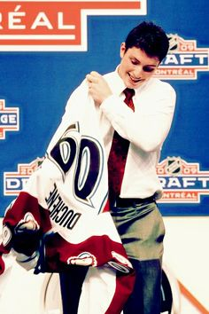 Matt Duchene, Colorado Avalanche look at how young he looks now 23 he just looks so much more grown up