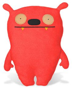 """Love the Ugly Dolls!  Use them for color and whimsy without making the room scream """"baby""""."""