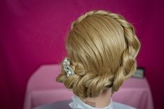 Tied Knot Updo