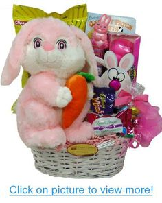 Delight Expressions™ Easter Bunny Gift Basket for Kids - Easter Gift for Girls #Delight #Expressions™ #Easter #Bunny #Gift #Basket #Kids #Girls