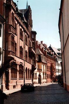 Germany - Freiburg im Breisgau - Franziskanerstrasse