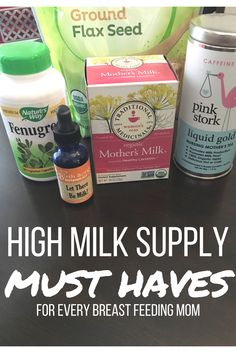 Stocking up to support your milk supply is just as important as stocking up on diapers! Here is a list of the must have items breastfeeding mamas need to help maintain a healthy supply for baby.