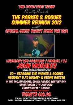 John Morales @ Parkes & Rogues/Whitley Bay