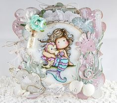 Live & Love Crafts' Inspiration and Challenge Blog: ♥ Mermaid - Be Yourself ♥