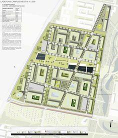 Prize: Lageplan Campus West