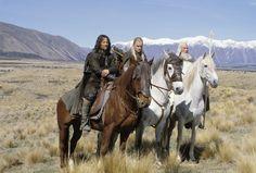 Aragorn, Gimli, Legolas and Gandalf