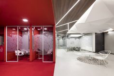 Red Hat Office by aei arquitectura e interiores - Office Snapshots