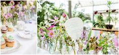 Vintage-Tischdeko: Wiesenblumen, Watercolour und wahre Liebe...