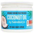 Image for Sainsbury's Organic Virgin Coconut Oil 330ml from Sainsbury's