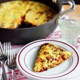 As long as you have a few vegetables and maybe a little meat to throw in a skillet, you can have a frittata on the table in about 20 minutes.
