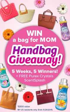 Surprise Mom With A Gorgeous Designer Handbag! Repin And Click Above To  Enter. Sweepstakes