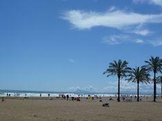 Playa de Cullera, en Valencia.
