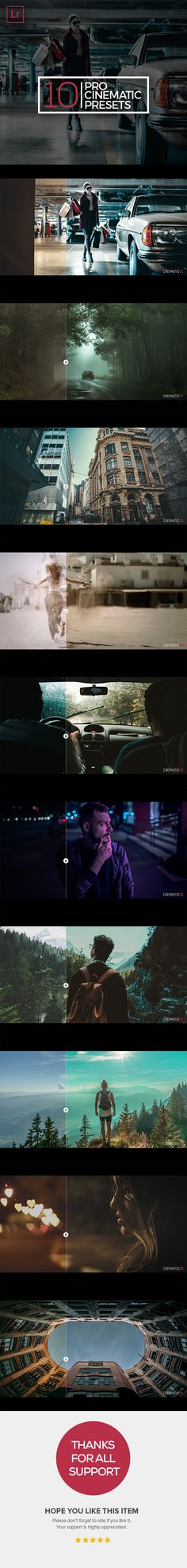 Pro Cinematic - Cinematic Lightroom Presets