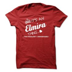 #Hoodie... Cool T-shirts (Deal of the Day) Its An ELMIRA Thing - WeedTshirts  Design Description: If youre An ELMIRA then this shirt is for you!If Youre An ELMIRA, You Understand ... Everyone else has no idea ;-) These make great gifts for other family members  If you do not...