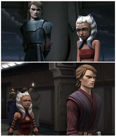 star wars ahsoka and anakin - Google Search