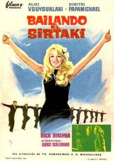"""Bailando el sirtaki (1967) """"Diplopennies"""" de George Skalenakis - tt0144869 Vintage Ads, Vintage Posters, Cinema Posters, Movie Posters, Director, Greece, Movies, Singer, Artists"""