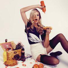 fashion hotdog, wildfox