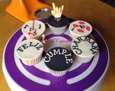 Cupcakes Rockeros / mano Rockera / feliz cumpleaños / música