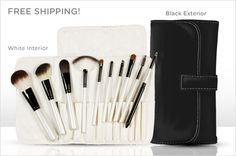 Some rockin' deals from Eversave! Pay $12 for a ten-piece, handmade cosmetic brush set, plus free shipping and more...