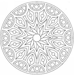 Coloring pages special mandala Picture drawing printable and coloring. Mandala Coloring Pages, Coloring Book Pages, Mandala Design, Mandala Art, Mandela Patterns, Simple Mandala, Free Coloring Sheets, Zentangle Patterns, Zentangles