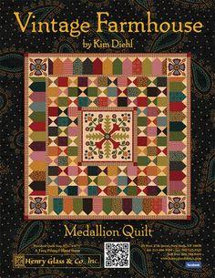 Vintage Farmhouse- Medallion by Kim Diehl- RRM (free)