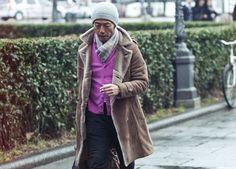 Street Style: Pitti Uomo Fall/Winter 2013