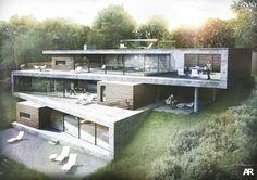 #architecture : Folding House by AR Design Studio I Like Architecture