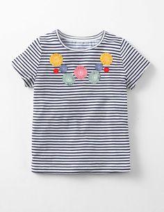 Flutter Flower T-shirt 30039 Tops & T-shirts at Boden
