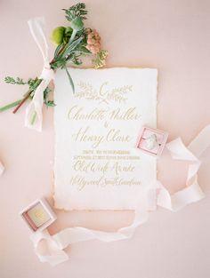 Beautiful wedding stationery | Plume & Fete | Wedding Sparrow | Fine Art Curation