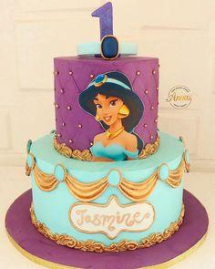 Princess Jasmine Cake Jasmine Birthday Cake Princess in The Most Jasmin Birthday Cake - Best Birthday Party Ideas Jasmine Birthday Cake, Aladdin Birthday Party, Aladdin Party, Birthday Cake Girls, Birthday Ideas, 4th Birthday, Princess Jasmine Cake, Princess Cakes, Princesse Party