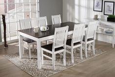 LIIA-ruokailuryhmä (pöytä 170x90cm+6 tuolia)
