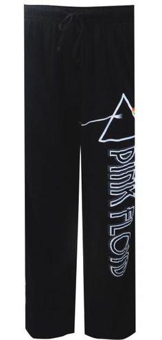 Pink Floyd Dark Side Of The Moon Black Lounge Pants