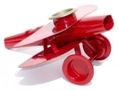 Metal Airplane Kazoo by Kazoobie Kazoos. $21.95. Features: This all metal airplane-shaped kazoo is manufactured in the USA by The Kazoo Company in Eden, NY. It is a classic design built from a standard metal kazoo and other kazoo parts. High-gloss red enamel paint has this kazoo shining. Packaged in a durable white cardboard gift box. Made in the USA. 4.75Long x 5.5 Wide x 2.5 Tall. Recommended for children over the age of three. Model: MAPK Manufacturer: Kazoobie Kazoos