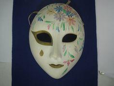 Porcelain Masks Decoration Mesmerizing Pair Of Vintage Japanese Hand Painted Porcelain Face Mask Wall Decorating Design