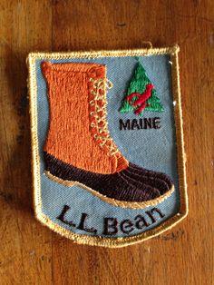 L.L. Bean Main Vintage Travel Patch from HeydayRetroMart on Etsy, $4.50