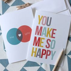 Love Card Set, $16, now featured on Fab.