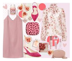 """""""Pink"""" by kristi-alexandrova ❤ liked on Polyvore featuring Giambattista Valli, Marc Fisher LTD, Paul Andrew, Marchesa, Yankee Candle, By Terry and MICHAEL Michael Kors"""